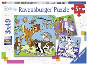 Ravensburger Puzzle Pieces 3x49 Disney Multi Property Puzzle Toy 148