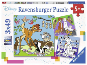 RAVENSBURGER Puzzle 3X49 Pezzi Disney Multi Property Puzzle Giocattolo 906