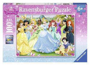 RAVENSBURGER Puzzle 100 Pezzi Xxl Principesse Disney A Puzzle Giocattolo 814