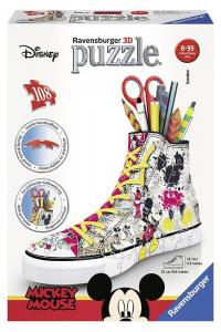 RAVENSBURGER Puzzle 3D Sneaker Disney Topolino Puzzeleball 3D Puzzle Giocattolo 431