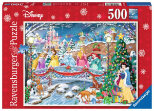 RAVENSBURGER Puzzle 500 Pezzi Principesse Disney Puzzle Giocattolo 641