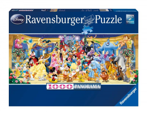 RAVENSBURGER Puzzle Pieces 1000 Panorama: Disney Puzzle Toy 585
