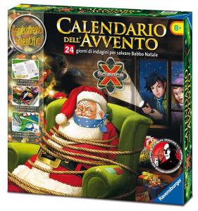 RAVENSBURGER Calendario Dell'Avvento Babbo Natale Scienza E Tecnologia Gioco 800