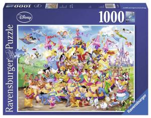RAVENSBURGER Puzzle 1000 Pezzi Disney Carnevale Disney Puzzle Giocattolo 340