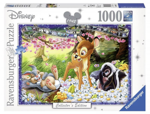 RAVENSBURGER Puzzle 1000 Pezzi Disney Disney Classics Bambi Puzzle Giocattolo 638