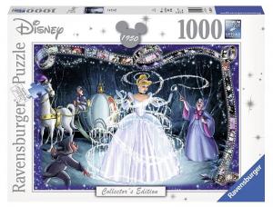 RAVENSBURGER Puzzle 1000 pièces Disney Disney Classics Cendrillon Puzzle 448