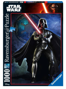 RAVENSBURGER Puzzle 1000 Pezzi Disney Star Wars Ultimate Collection Darth Vader 762