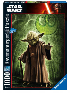 RAVENSBURGER Puzzle 1000 Pezzi Disney Star Wars Ultimate Collection Yoda Puzzle 487