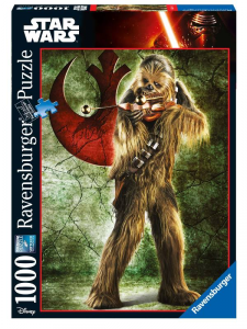 RAVENSBURGER 1000 Puzzle Pieces Disney Star Wars Ultimate Collection Chewbacca 216