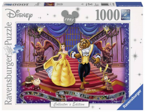 RAVENSBURGER Puzzle Pieces 1000 Disney Classic Disney Beauty and the Beast Puzzle 598