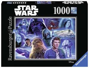 RAVENSBURGER Puzzle 1000 Pezzi Disney Star Wars B Puzzle Giocattolo 151