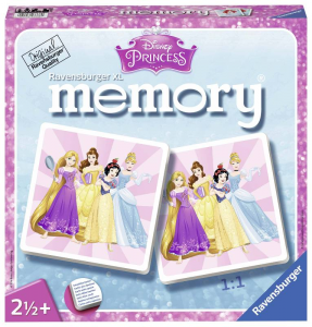 RAVENSBURGER Xl mémoire Disney Princess Memory Game Toy Board 633