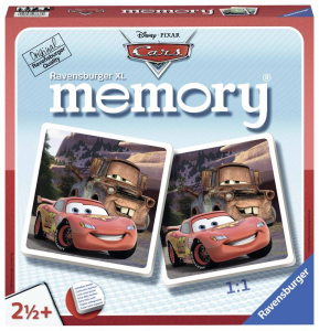 RAVENSBURGER Memory Xl Disney Cars Gioco Memoria Da Tavolo Giocattolo 854