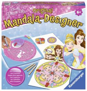 RAVENSBURGER Mandala Designer Disney Princess Couleurs de conception de formulaires jeu 376