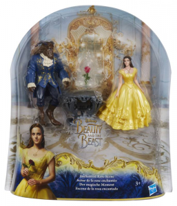 HASBRO Beauty And The Beast Moments Magici Bella And the Beast Small Doll Disney 507