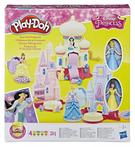 HASBRO Play-Doh Il Castello Di Disney Princess Pasta Giochi Modellabile  766