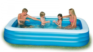 INTEX Swimming pool Family Cm 305X183X56 Swimming pool Game Summer Summer Toy 849