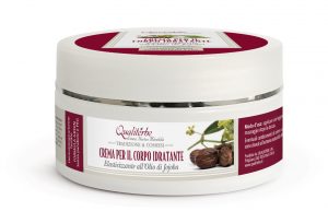 Moisturizing body Cream with 6% Jojoba Oil - PARABEN FREE