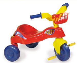 BIEMME Tricycle Flash Red 1377 R Tricycle Game Child Child Toy 791