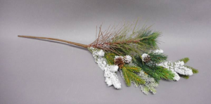 TABOR Pick Flock Pigne Natural 60 cm Garlands And Fringes Christmas Gift 231
