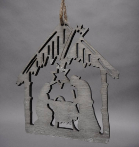 TABOR Cottage C / Nativity 14 cm Hut Nativity scene Christmas Gift 588