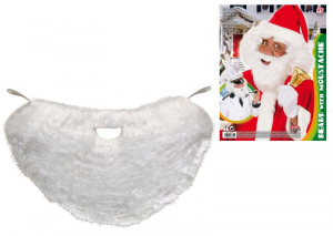 WIDMANN Barba Con Baffi Babbo Natale Parrucca Barba E Baffi Party Carnevale 547