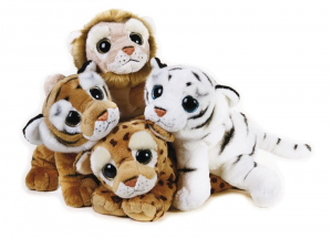 VENTURELLI Lelly Furbotti Jungle Animale Bosco Peluches Giocattolo 872