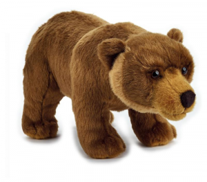 VENTURELLI Peluche The Nat Geo Basic Collection Orso Grizzly Animale Bosco Peluc 570