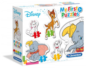 CLEMENTONI Puzzle 3 6 9 12 My First Puzzles Disney Cla 715