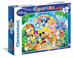 CLEMENTONI Puzzle 60 Maxi Disney Classic Puzzle Maxi Pavimento Giocattolo 818