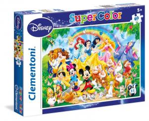 CLEMENTONI Puzzle 60 Disney Family Puzzle Giocattolo 992