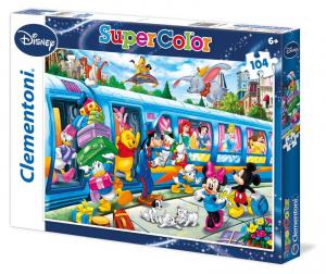 CLEMENTONI Puzzle 104 Disney Family Puzzle Giocattolo 978