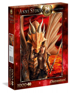 CLEMENTONI Puzzle 1000 Anne Stokes Inner Strength 296