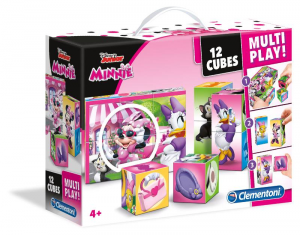 CLEMENTONI Cubes 12 Multiplay Minnie Happy Helpers 441