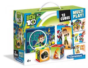 CLEMENTONI Cubi 12 Multi Play Ben Ten 376