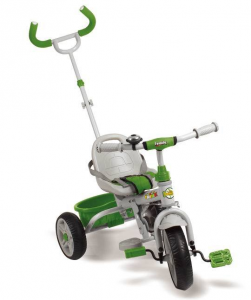 Tricycle Metal With Handle Steering Green Tricycle Game Child Child Play 659
