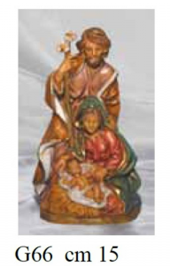 EUROMARCHI Group Nativity Cm 15 Nativity scene - Characters And Animals Christmas Gift 589