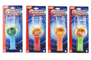 GLOBO Spinning C / Lumières et pichet B / O 4 Yo-Yo Couleurs et Trottole Enfant Jeu 184