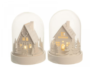 KAEMINGK Led Wood House Cloche 480844 Lights And Decorations Bright Christmas Gift 518