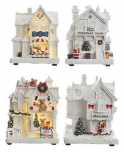 KAEMINGK Led Christmas Shop 4 assorted Ind Bo Theme: Led Christmas Fun Packaged 497