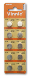 TEOREMA Button Batteries Blister 10 pieces Stack Button Battery Tobacco shop 546