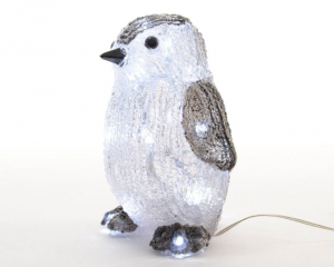 KAEMINGK Led Acrylic Penguin O 492168 Luci E Decorazioni Luminose Natale Regalo 439