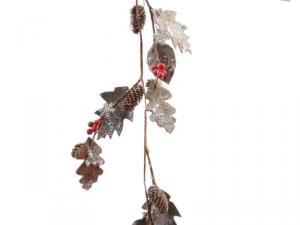 KAEMINGK Natural Leaf Garland 724808 Ghirlande E Frange Natale Regalo 283