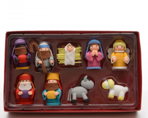 KAEMINGK Set Presepe Color 6Cm 596446 Presepe - Personaggi E Animali Natale 494