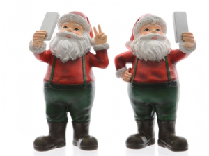 KAEMINGK Poly Holy Making Sel 534936 Father Christmas Gift 428