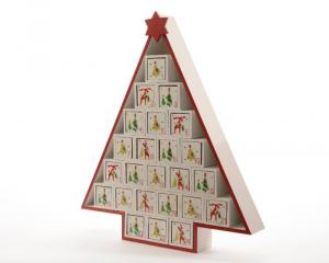 KAEMINGK Mdf Advent Calendar Albero Shape Decorazioni E Oggettistica Natale 147