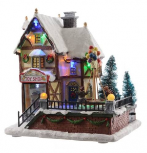 KAEMINGK Led Toy Shop Ind Bo Theme: Led Christmas Fun With Movement Excl: 3X Aa 545