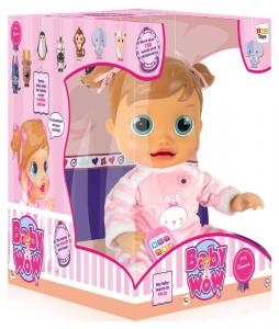IMC Wow Baby Doll Tee Interactive Bambolotto Weiblich Mädchen Mädchen Spiel 817