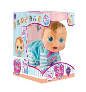 IMC Bebé Wow Teo Bebe ' Interactivo Muñeco Juego Mujer Niña Niña 841