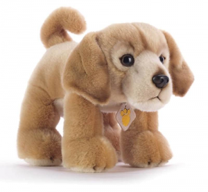 PLUSH & COMPANY Garco Golden Retriever L30 Cm Cane Peluches Giocattolo 416